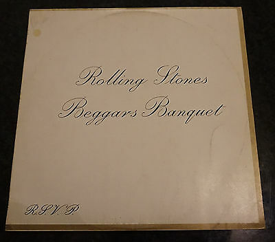 The Rolling Stones – Beggars Banquet ,Israeli  1968 Stereo - Mono issue,