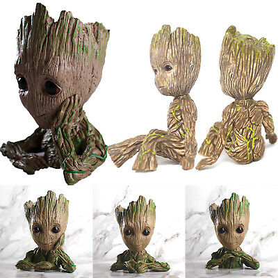 Guardians Of The Galaxy 2 Marvel Baby Groot Painted Movable Figure Blumentopf