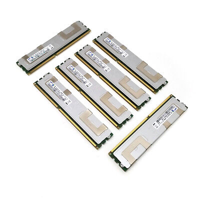 (6x 4GB) Samsung 2Rx4 PC3-10600R DDR3-1333MHz ECC Server CL9 Memory 240-Pin DIMM