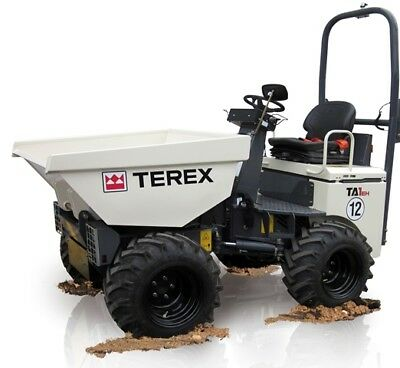 Terex Site Dumper Workshop Manual Pdf Covers Many Models sent as a 'download'