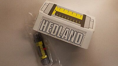 Hedland 4 to 28 gpm Variable Area Mechanical Flowmeter H621-028