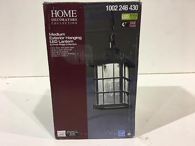 bf19b952164 Home Decorators Collection Summit Ridge Zinc Outdoor LED Hanging Lantern New