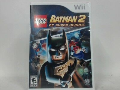 LEGO BATMAN 2 Wii Complete CIB w/ Box, Manual Good