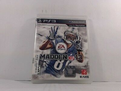 Madden Nfl 13 Playstation 3 Ps3 Complete In Box W  Manual Cib Acceptable fa26d79041b94