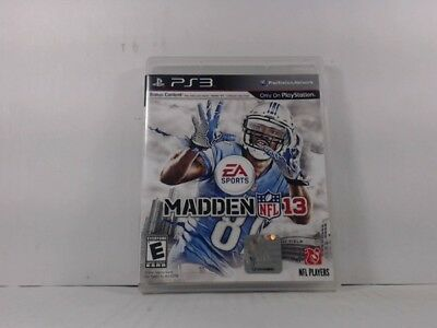 Madden Nfl 13 Playstation 3 Ps3 Complete In Box W  Manual Cib Very Good 70ebb0cac7cf3