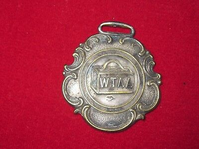 Vintage Early 1900's Western Travelers Accident Association Key Fob Omaha Neb