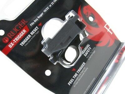 Ruger 90462 Gray Drop In Bx-Trigger Assembly For 10/22 + Charger Rifle