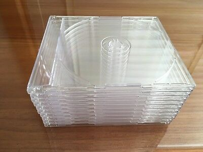 Jewel Cases BRAND NEW Clear Plastic Suit MUSIC CD SINGLE Selling In Lots Of 10