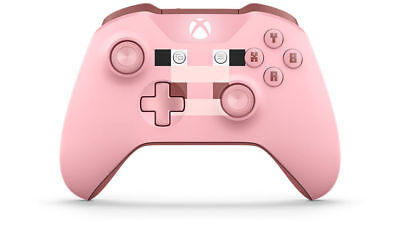 Microsoft Xbox One Wireless Controller Minecraft Pig Brand New Factory Sealed