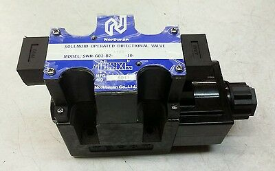Northman Solenoid Operated Directional Valve A120 New Free Shipping