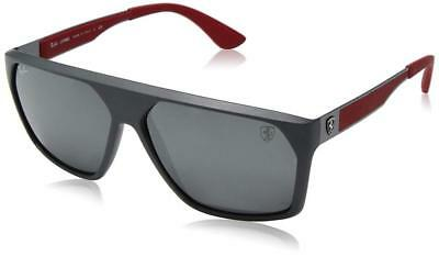 97b597f19e2 RAY BAN SUNGLASSES 4309M 4309 MAT GRAY YELLOW POLARIZED F608 6B ...