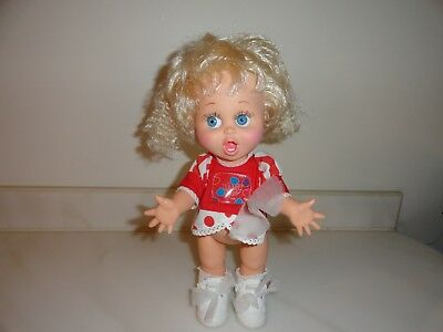 1990 Galoob Baby Face Doll SO SURPRISED SUSIE SUZIE Original clothing & Shoes