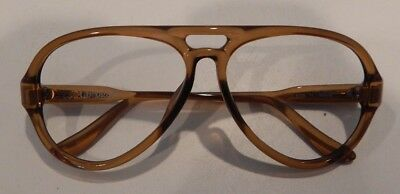 Vintage Terri Brogan 8709 11 56/12 Optyl Men's Eyeglass Frame New Old Stock