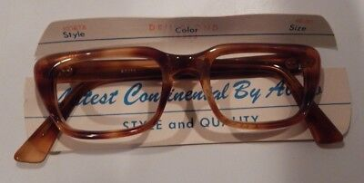 Vintage Abaco Kosta Demi Blonde 46/20 Men's Eyeglass Frame New Old Stock