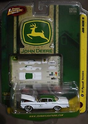 Johnny Lightning John Deere R1  1962 Plymouth Belvedere Car 1/64 Scale