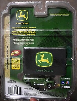 Johnny Lightning John Deere R1 1950 Chevrolet Panel Delivery Truck  1/64