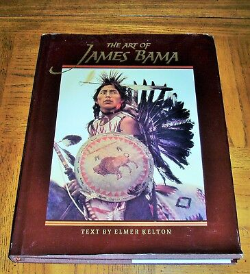 The Art Of James Bama -1993 First Edition - Hardcover With Dust Cover -Beautiful