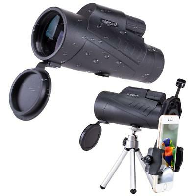 NOCOEX 10X50 High Power Waterproof Compact for Adults Monocular, Adjustable...