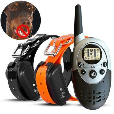 1000M Yard Waterproof Rechargeable Vibration Remote Training Collar For Dog