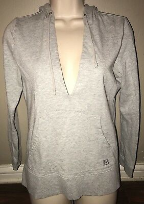 Gray Long Sleeve Pullover Hoodie From Michael Kors Petite Small!