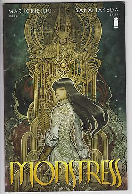 Monstress #1 (Dec 2015, Image) VF- 1st Print Hot Comic Takada Liu             F