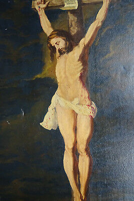 Peter Paul Rubens Jesus Kreuz um 1900 The Crucified Christ Jugendstil painting