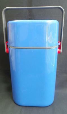 Retro Decor Purple Blue Two Bottle Wine Drink Cooler Australia