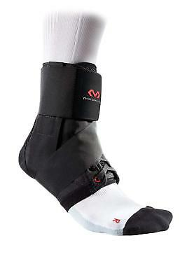 Mc David Ankle Support Brace with Strap for Adults - Lightweight Support - Black