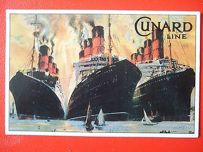 White Star Big 3 In The 1920's -Mauretania, Berengaria And Aquitania