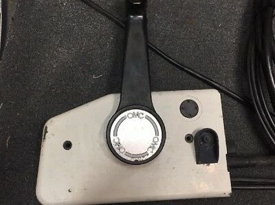 Johnson - Evinrude Outboard Control Box Side Mount OMC