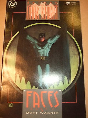 "Batman Legends of the Dark Knight #29 (""Faces"" Part 2), Wagner (VFN) DC 1991"