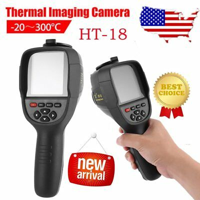 HT-18 HD Thermal Imaging Camera Infrared Imaging Heat Sensor Built-in Battery US