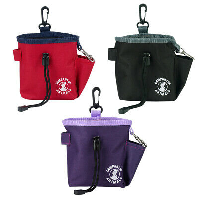 Company Of Animals Dog Treat Snack Training Bag Pouch - Belt Attachment And Clip