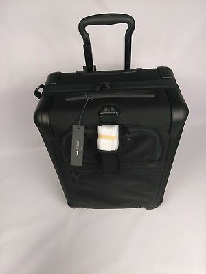 TUMI Alpha 2 Continental Expandable 4 Wheeled Carry-On 22061D2 - BLACK -  $675
