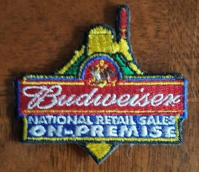Budweiser National Retail Sales Patch