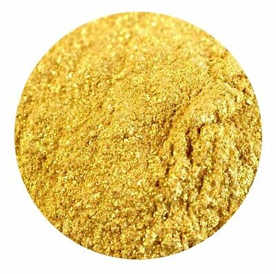Gold Sparkle Cosmetic Mica Powder Pure Soap Bath Bomb Colour Pigment - UK Seller