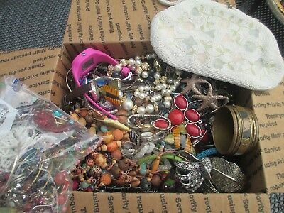 HUGE! Vintage to Now JUNK DRAWER Jewelry Lot Estate  UNSEARCHED UNTESTED 10+ lbs