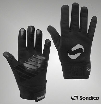 Boys Girls Sondico Sport Football Silicone Players Thermal Gloves Age 7-13+ Yrs