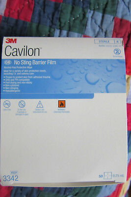 Cavilon Sting-Free Barrier Wipes Box of 50