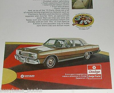 1975 Dodge ad, Dodge Dart Special Edition