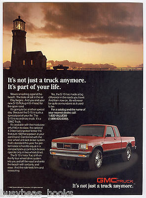 1989 GMC S-15 advertisement, General Motors S 15 Pickup 4x4, by lighthouse