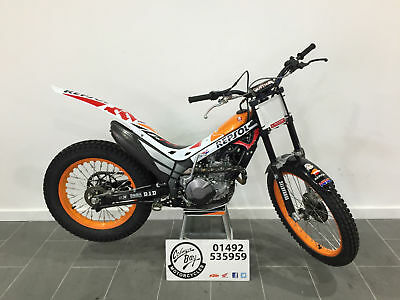 2017 Montesa MRT260 Repsol Ex-Demo, Registered, 0% Finance, Carbon Guards