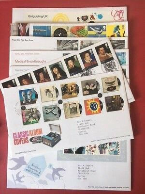 FDCs - GB 2010 First Day Covers - Commemorative - FDC MULTIPLE LISTING