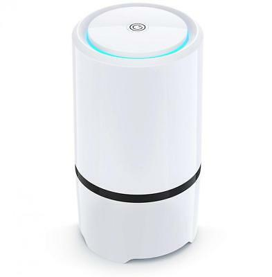 Air Purifier - USB Filter, HEPA Filtration and Small Personal Desktop Home...