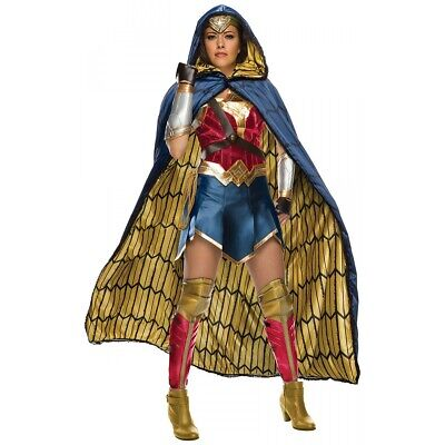 Wonder Woman Costume Adult Justice League Halloween Fancy Dress