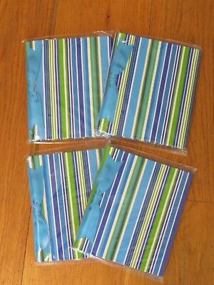 4 Maude Asbury Brag Book Photo Albums Blue Stripe Art Craft Gift picture USA New