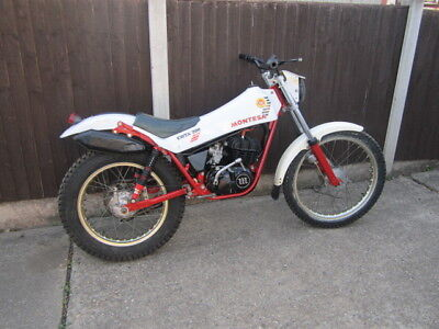 Montesa 200 Twinshock Trials Bike  Spares Or Repairs