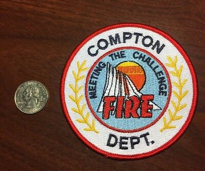 Compton California Fire Department Firefighter Paramedic Patch Ca