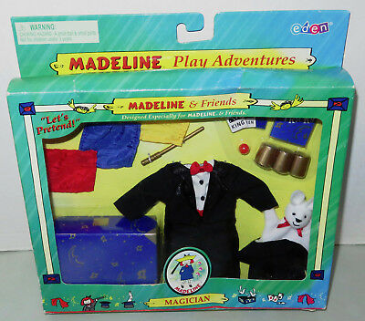Madeline & Friends Magician Play Adventures Let's Pretend Magic Hat Tricks NEW*