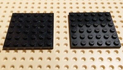 LEGO Complete Sets & Packs 1x Lego Plates 6x10  Part 3033  Black Pre owned ## FREE UK DELIVERY## Construction & Building Toys